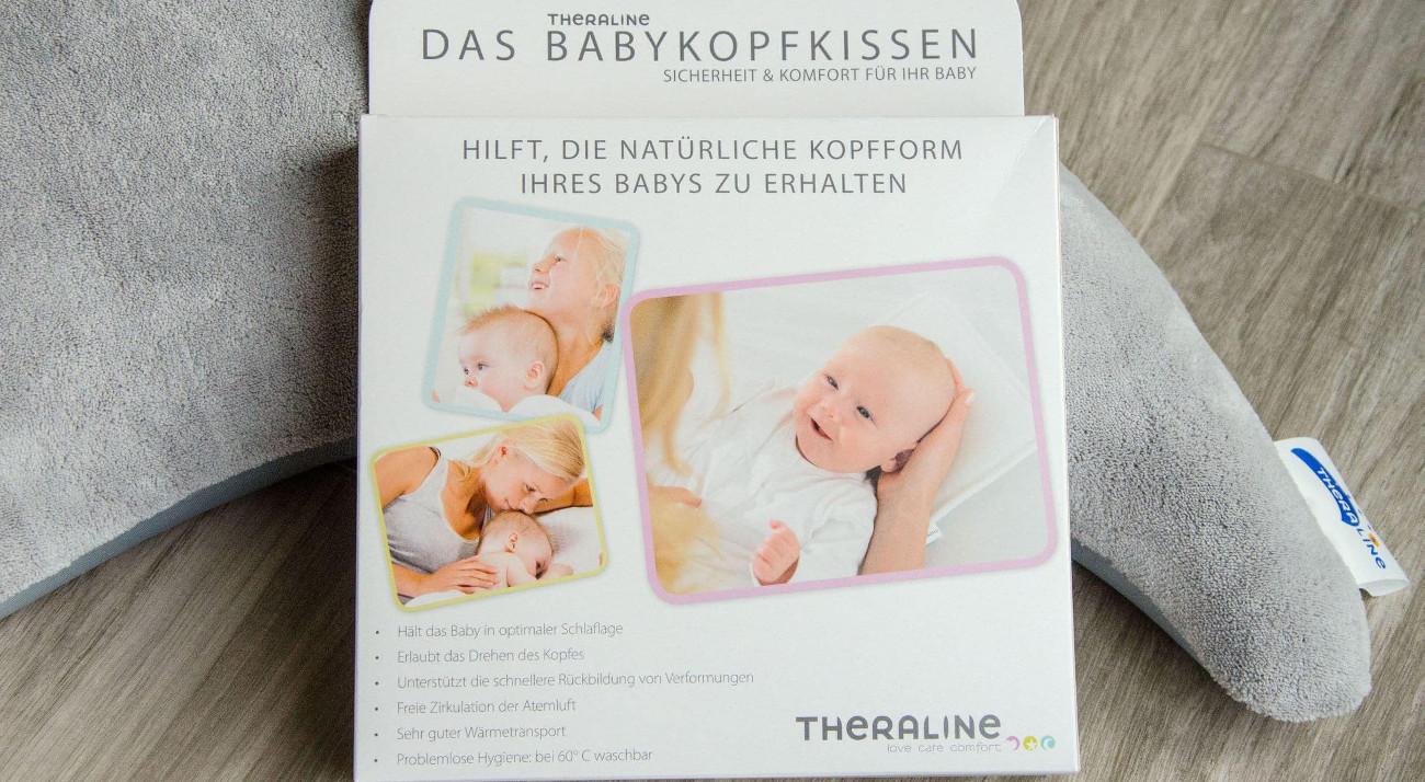 Theraline-Babykopfkissen